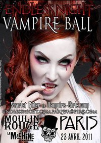 endless vampire ball de paris la machine moulin rouge